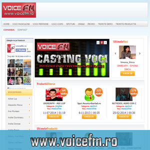 VOICEFM - PRODUCTIE AUDIO